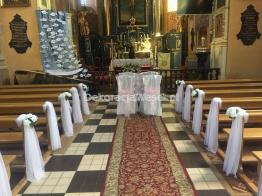 Dekoracje Sal Weselnych i Kościołów Sandomierz i okolice -  - Kościół Piotra i Pawła w Obrazowie 2