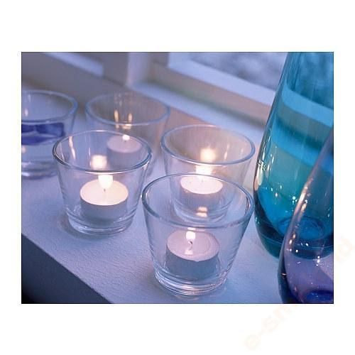 Świeczniki szklane - wypozyczenie-dekoracji, szklo-ozdobne, dekoracja-stolow - ikea swiecznik swieczniki szklane galej 4szt kpl 2 3466386325