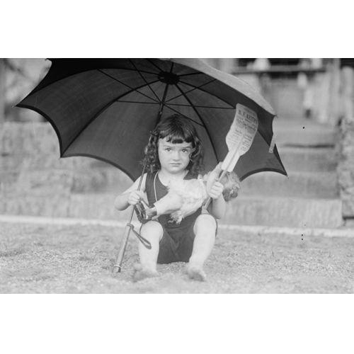 GiA Dziewczynka z parasolem