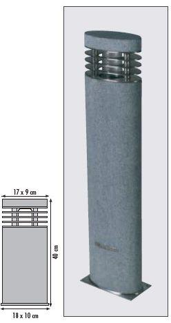 Royal Botania Ellipse Granite - 40 cm
