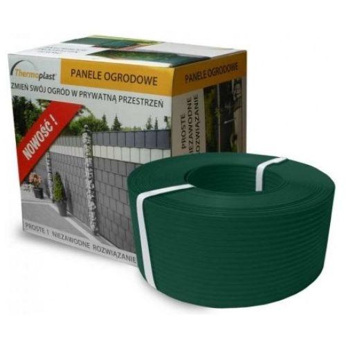 Termoplast Taśma ogrodzeniowa i balkonowa 95mm zielona 21995
