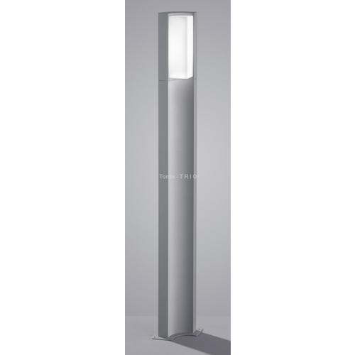 TRIO Słupek ogrodowy Suez 100 cm, 1 x 6W LED, Tytanowy (420360187)