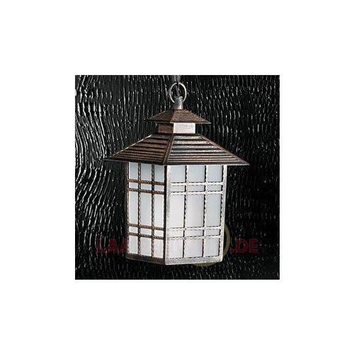 Zewnętrzna lampa wisząca ilka z łańcuchem 7253179