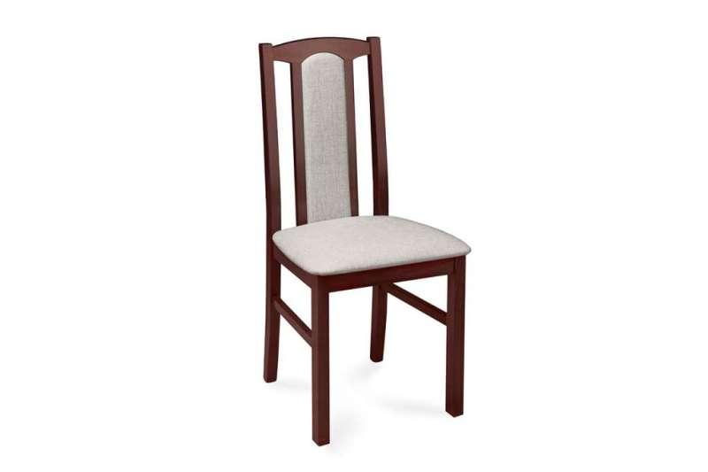 Krzesło CIBUS orzech/jasny beż