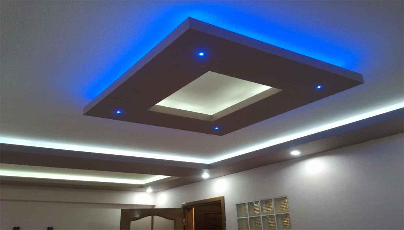 Asma tavan modern resimli isikli ev dekorasyon fikirleri - Al Pan Tavan