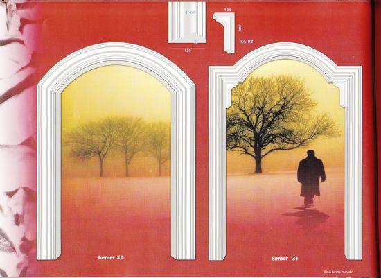 alçı kapı kemerleri