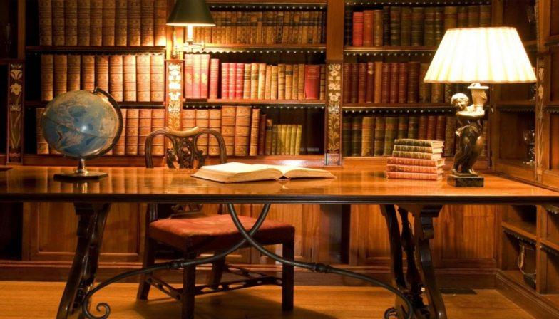 kütüphane dekorasyonları