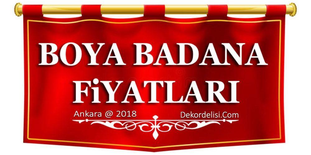 Ankara 2018 Daire Boyama Fiyatları İşçilik ve Malzemeli
