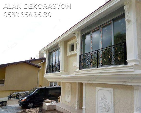 villa dış cephe dekorasyonları3