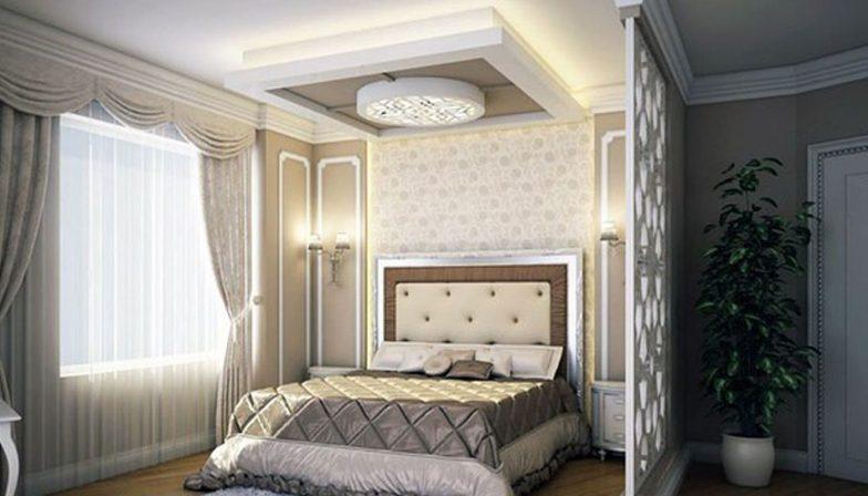yatak odası için asma tavan 5