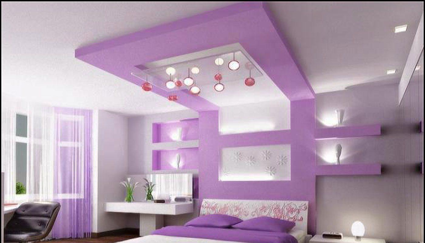 yatak odası için asma tavan 6