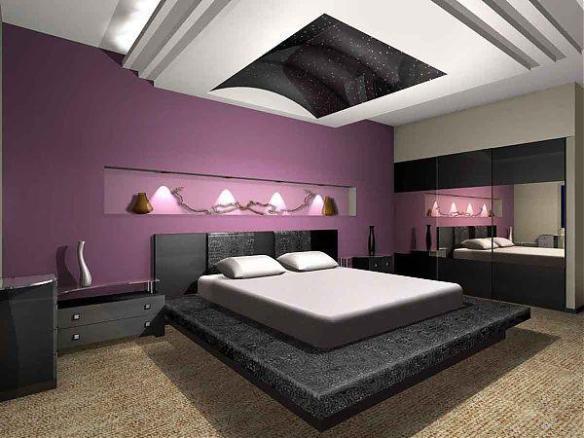 yatak odası asma tavan modeli3
