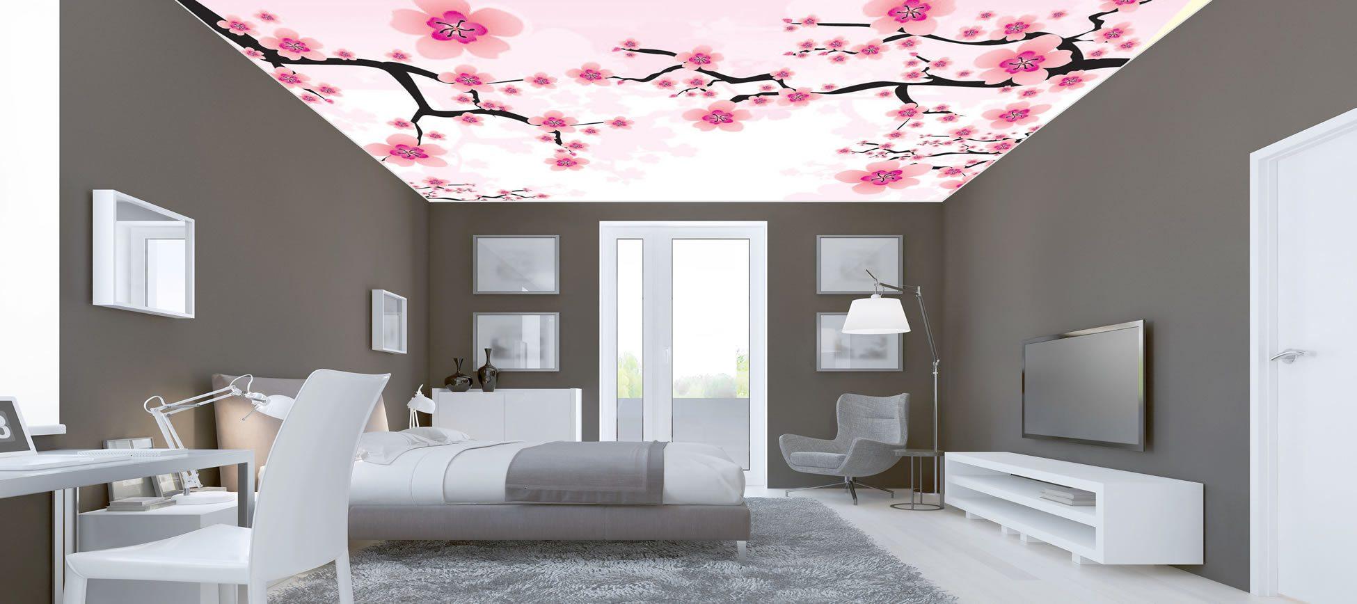 yatak odası gergi tavan