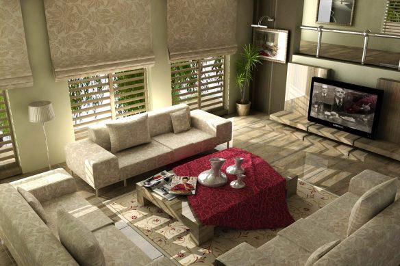 oturma odası dekorasyon örneği1