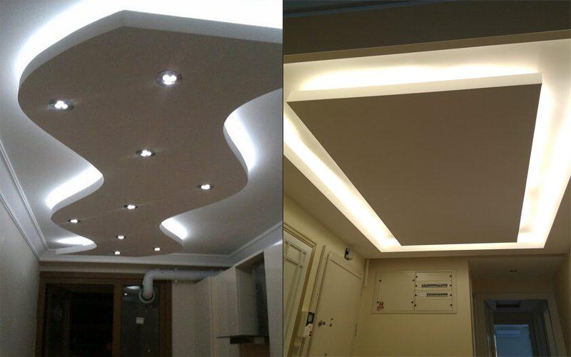 koridor alçıpan asma tavan