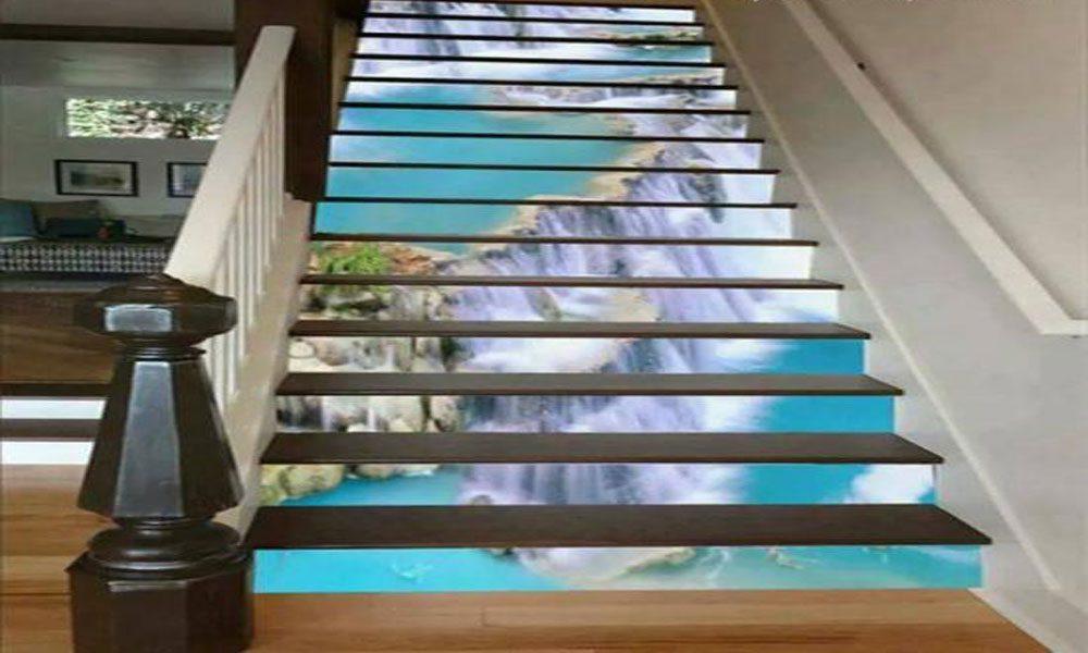 3 boyutlu merdiven modeli-3