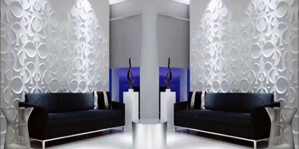 üç boyutlu duvar paneli