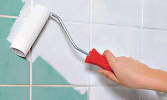 fayans boyama nasıl yapılır