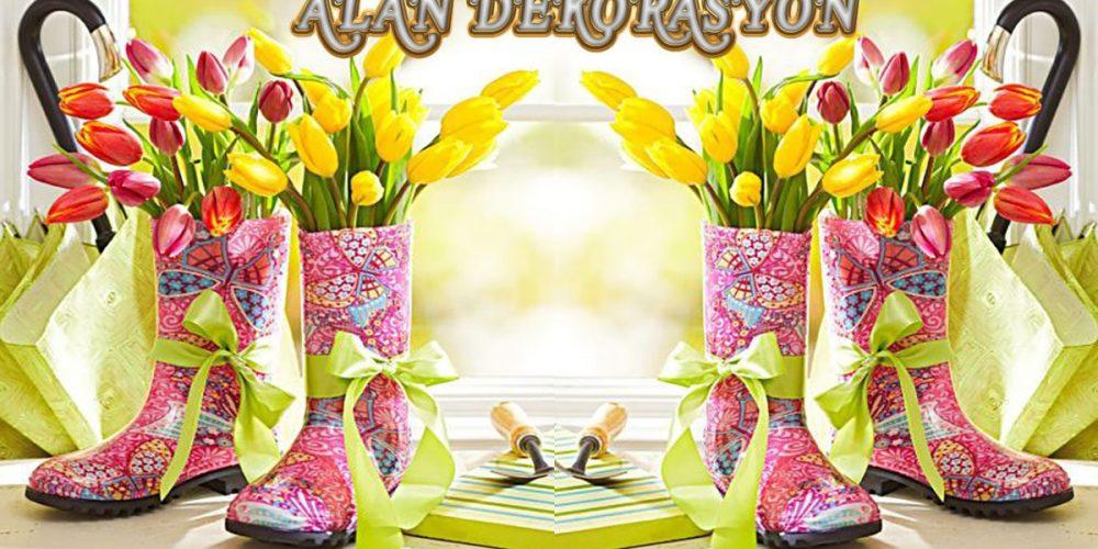 bahar dekorasyonu