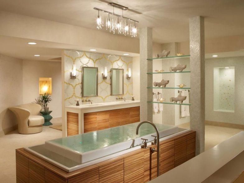 banyo aydınlatma örneği