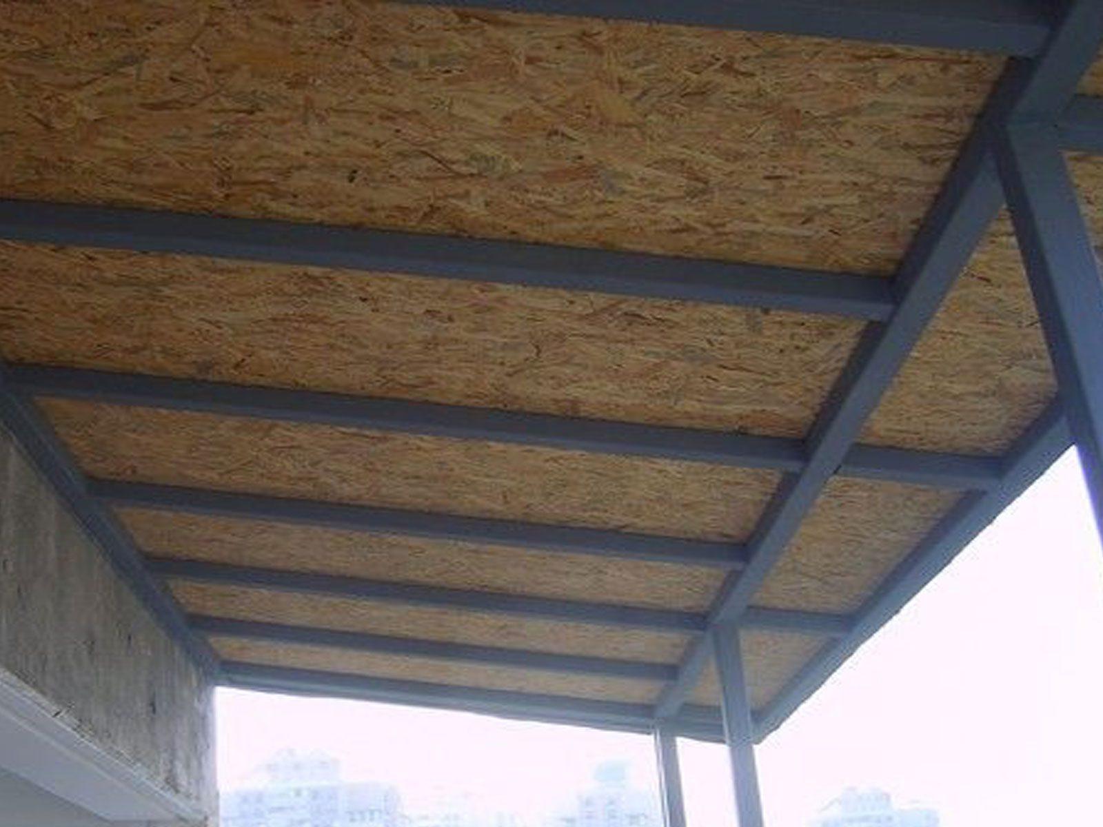 teras kapatma osb montaj