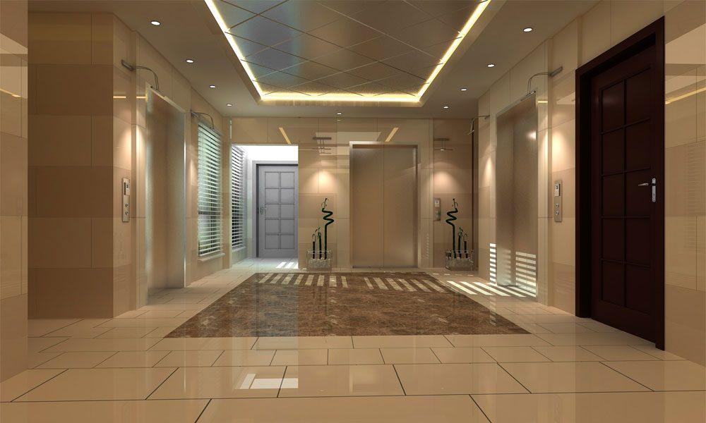 Otel koridorları 2