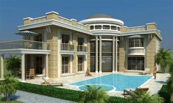 Villa model 1