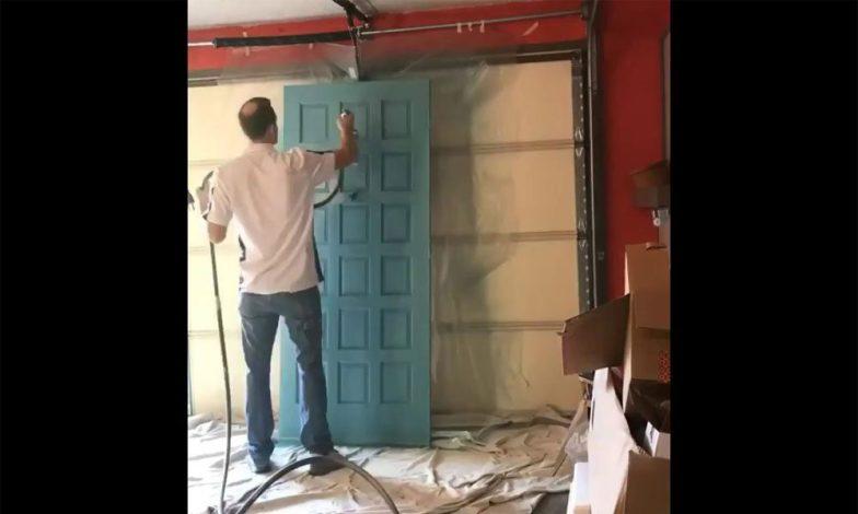 amerikan kapı nasıl boyanır