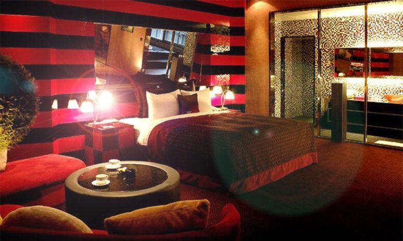 kırmızı ev tasarımları
