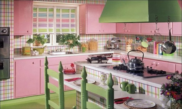 retro mutfaklar