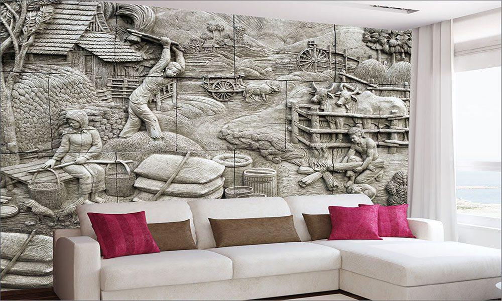 3 boyutlu duvar kağıdı örneği7
