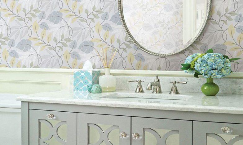 2018 banyo duvar kağıdı modeli