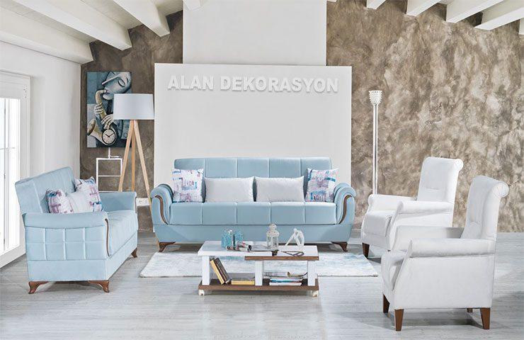 Oturma odası dekorasyonları