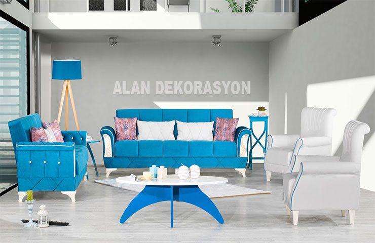 Oturma odaları dekorasyon modelleri