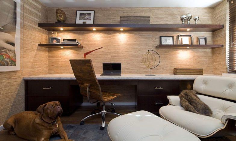 minimalist çalışma odası