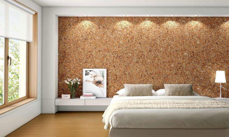 modern simli taş desenli duvar kağıdı
