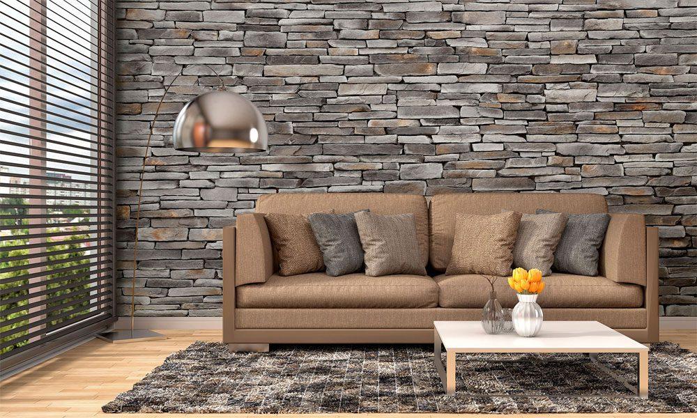 taş desenli duvar kağıdı modeli1