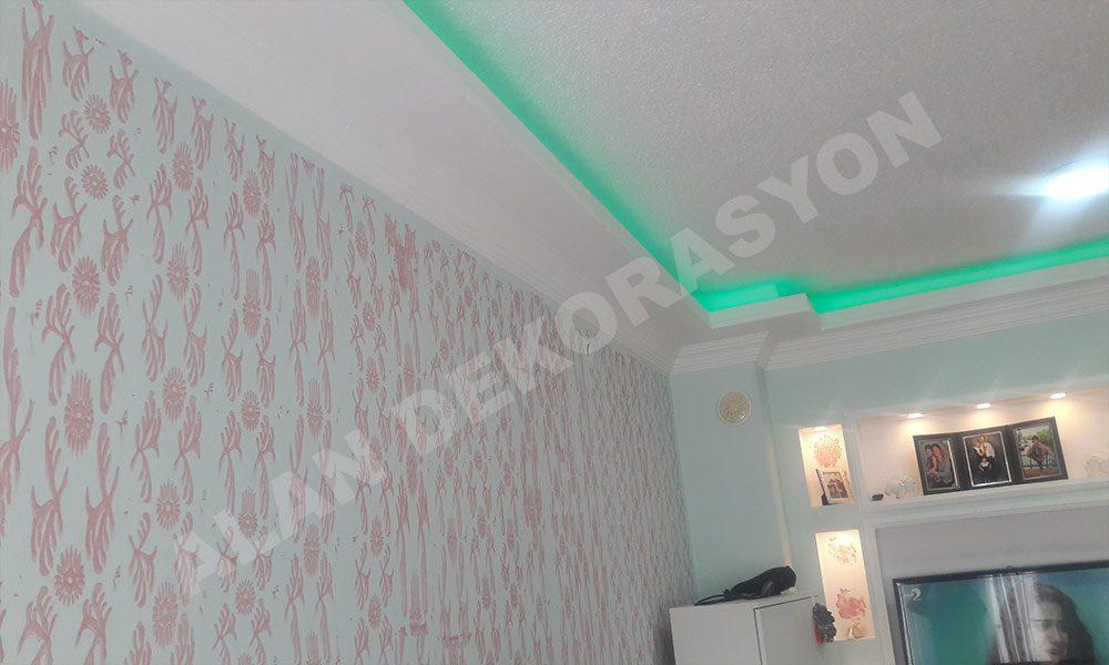 Led ışıklı asma tavan 7