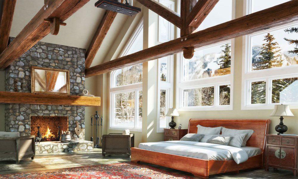 dağ evi dekorasyon örneği14