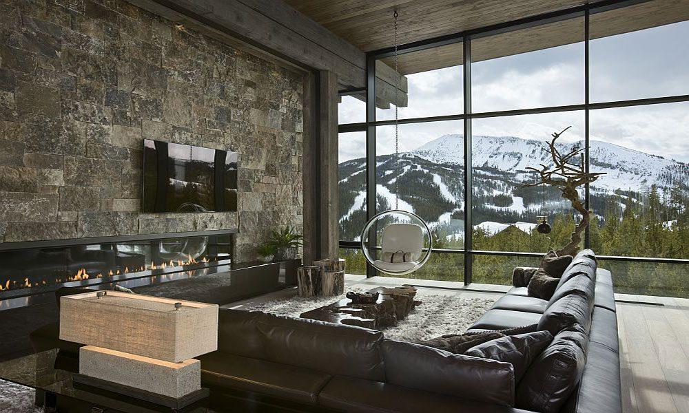 dağ evi dekorasyon örneği17