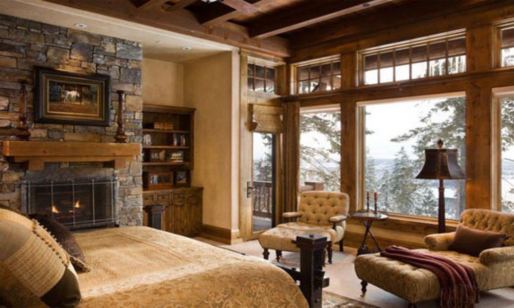 dağ evi dekorasyon örneği18