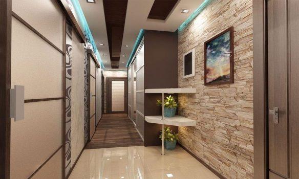 uzun koridor dekorasyonu