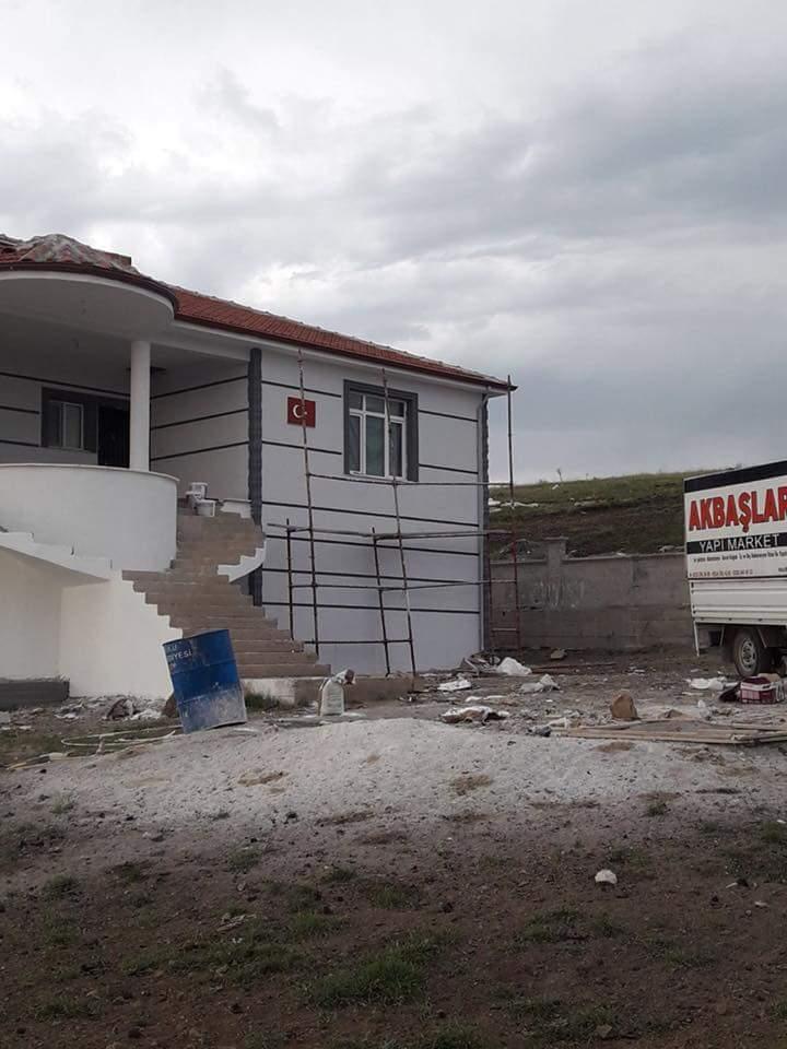 İki katlı temelden çatıya betonarme ev inşaatı çalışmamız6