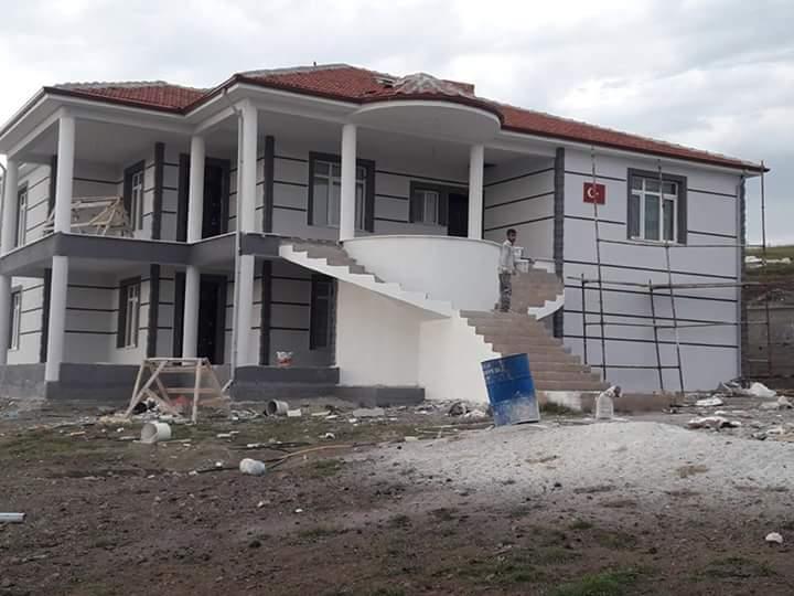 İki katlı temelden çatıya betonarme ev inşaatı çalışmamız4