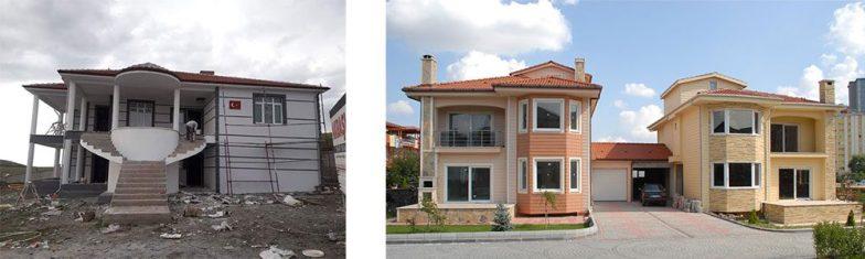 Temelden çatıya betonarme inşaat