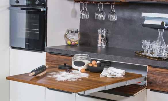 dar mutfaklar için pratik çözümler