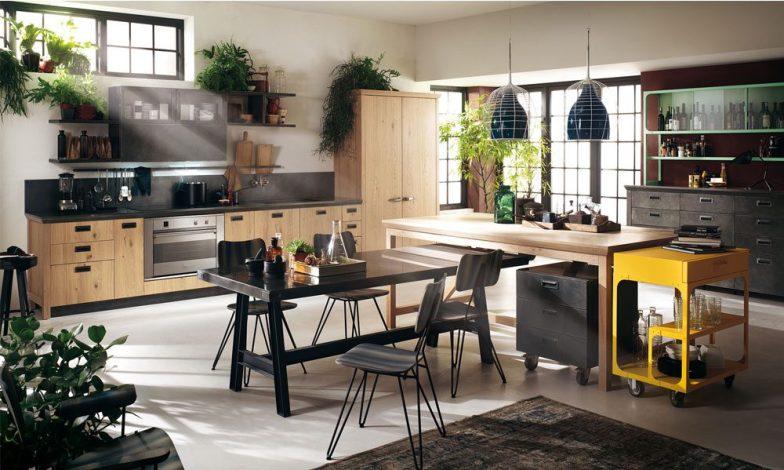 endüstriyel mutfak tasarım