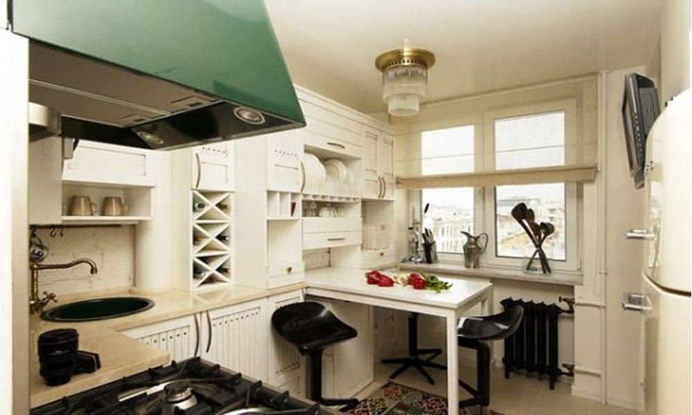 küçük mutfak masa modeli11