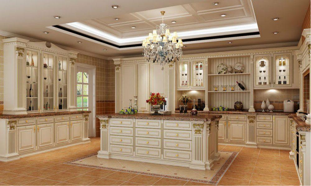 klasik rustik mutfak