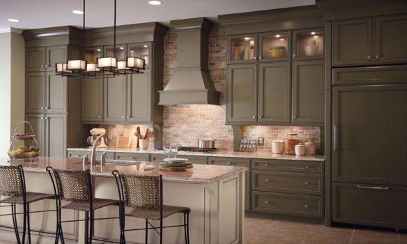modern rustik mutfak